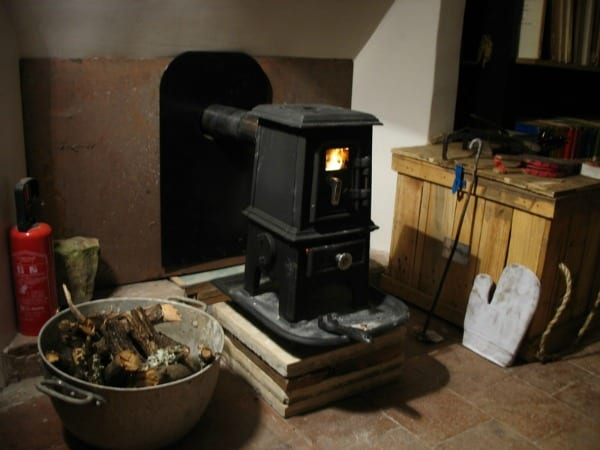 Tiny Wood Stove - Salamander Pipsqueak