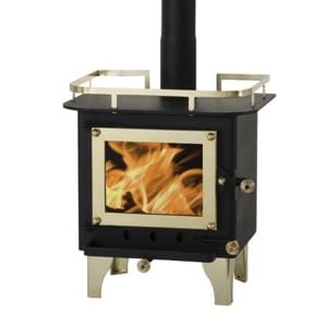 Cubic Mini Small Wood Stove