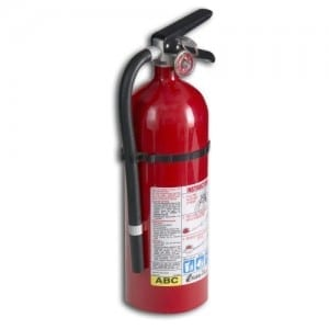 small stove fire extinguisher