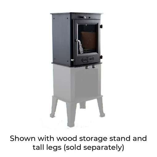 Dwarf 5kW with Stand and Tall Legs