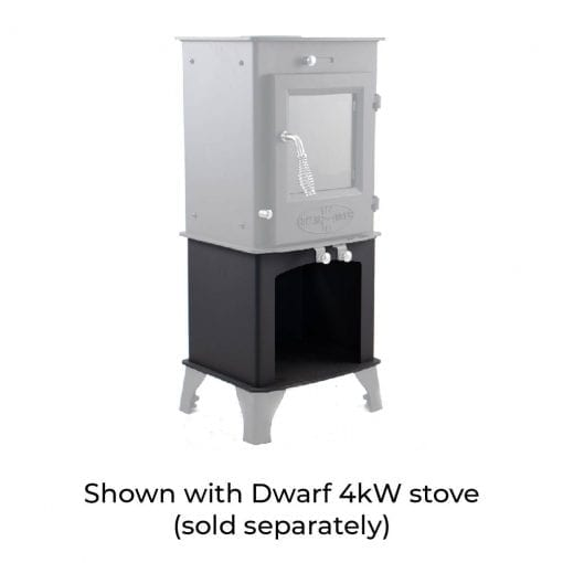 4kW Wood Storage Stand with Dwarf 4kW and Standard Legs