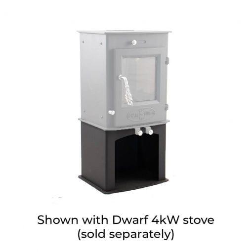 4kW Wood Storage Stand with Dwarf 4kW