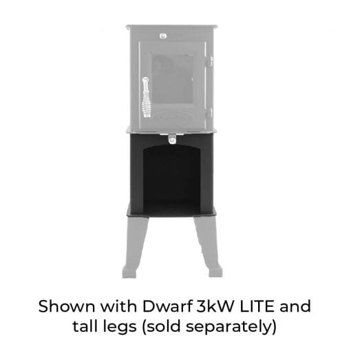 3kW Wood Storage Stand with 3kW LITE and Tall Legs