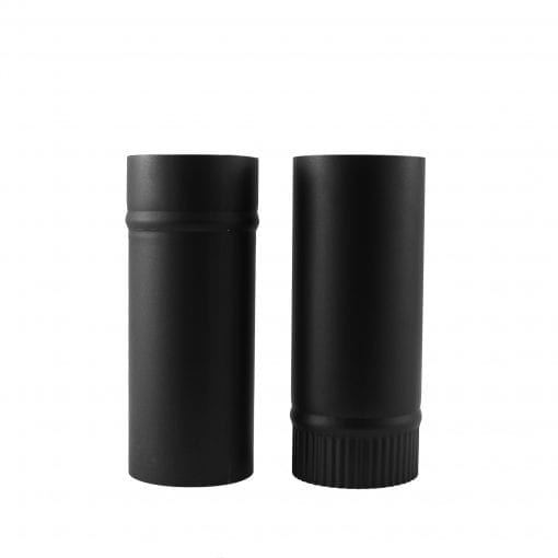 4 inch telescoping stovepipe separated