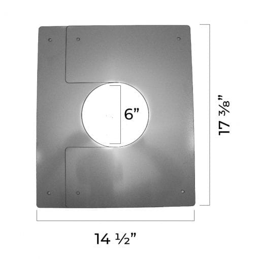 4 inch interior trim plate dimensions fully compressed