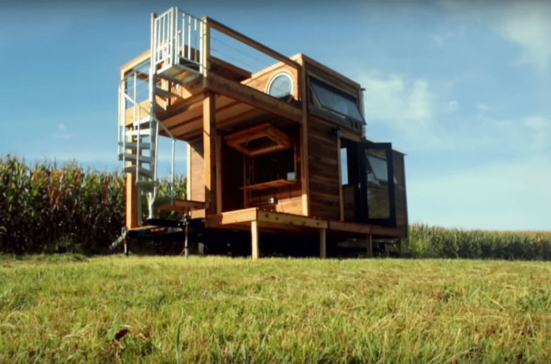 "Carpenter Owl Tiny Home ""Honey on the Rock"""
