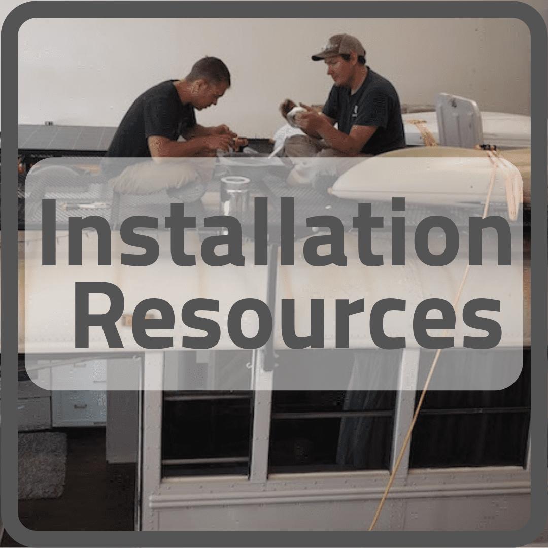 Button - Installation Resources