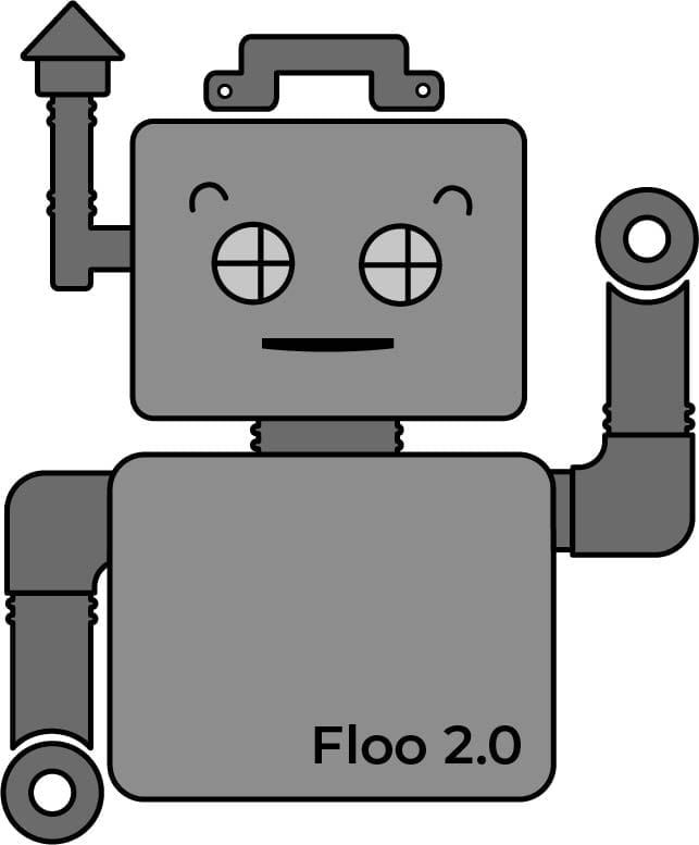 Floo the Parts Robot 2.0