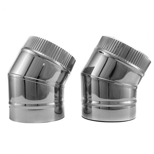 5 Inch Insulated 30 Degree Elbows