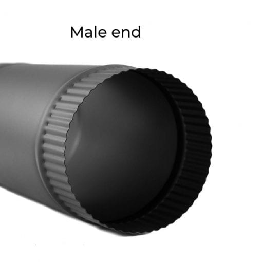5 Inch Single-Wall Male End
