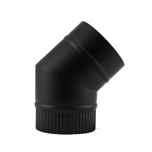 5 Inch 45 Degree Stovepipe Elbow