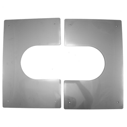 5 Inch Interior Trim Plate Separated